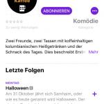 Erstmal Kaffee in der Podcast App Abonnieren